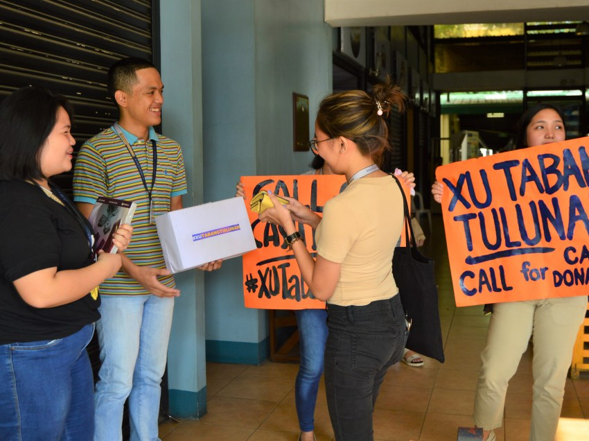 XU students raise funds for quake survivors