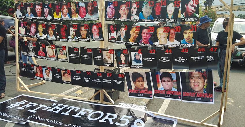 Mother of Ampatuan massacre victim appeals to suspects to surrender