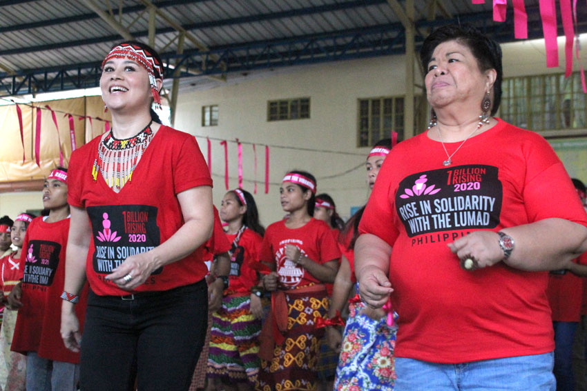 RISING FOR THE LUMAD