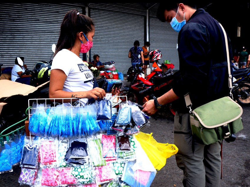 Davao City imposes fines for persons not wearing face masks