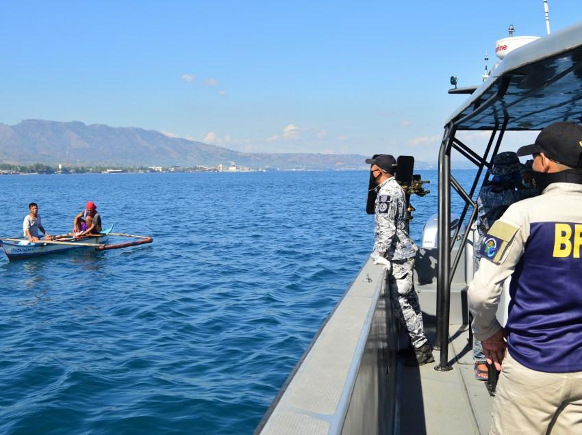 Authorities conduct sea patrol in Macajalar Bay amid COVID-19