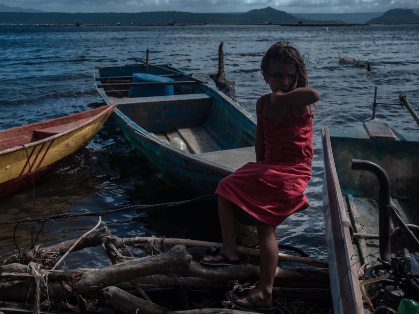 IN PHOTOS: Meeting the children of a fisherfolk community in Talisay, Batangas