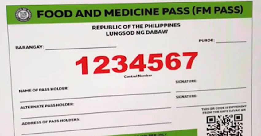FM pass suspended in Davao City