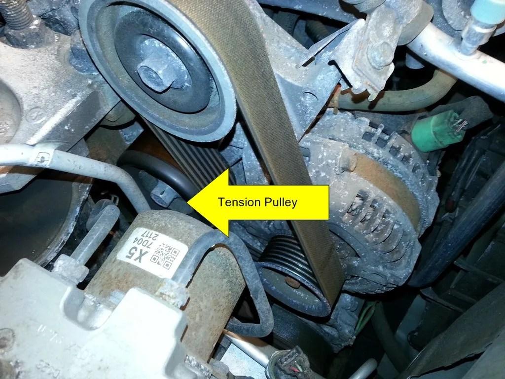 Serpentine Belt Replacement - 2007 Honda Civic Si