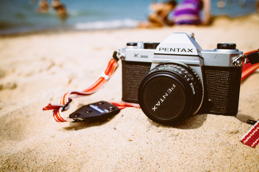 Pentax K1000 Beach Day