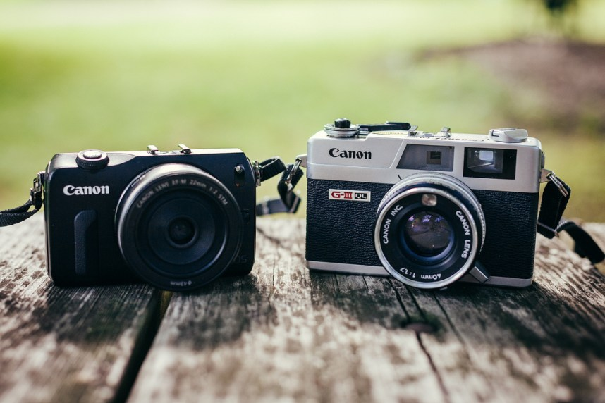 Canon EOM and Canonet