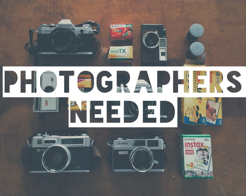 Photographers Needed