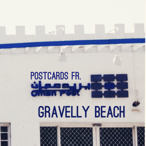 Postcards from Gravelly Beach – Oman post office