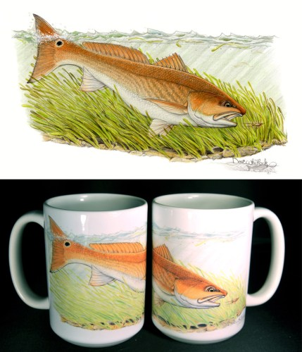 Redfish ART mug