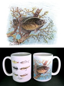 Crappie ART Mug