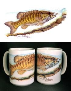 Smallmouth Art Mug