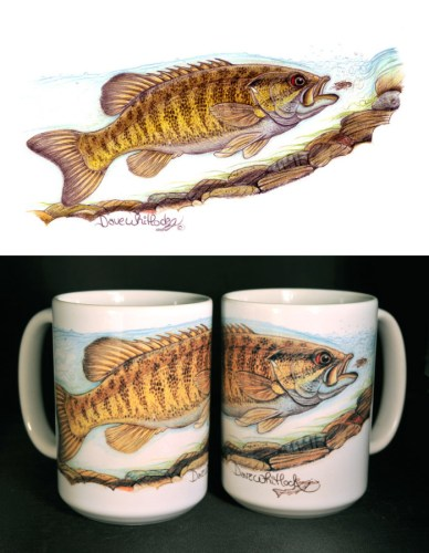 Smallmouth Art Mug