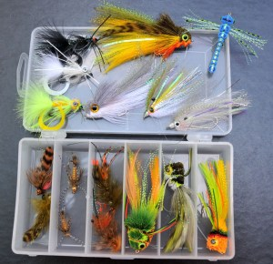 Whitlock-designed bass flies