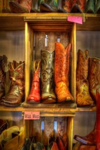 Vintage Cowboy Boots, Wimberley
