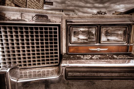 Crusty Cadillac, Johnson City, Texas
