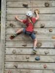 Duncan climbing