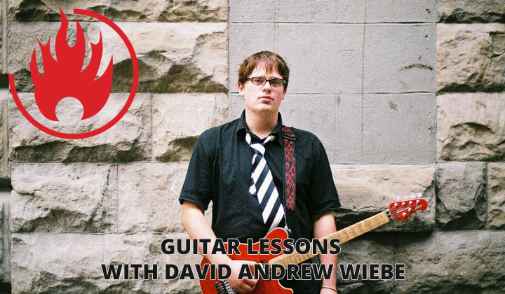 Red Flame Guitar Lessons with David Andrew Wiebe