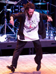 Savion Glover at the Lobero Theatre - UCSB Arts & Lectures 11/16/03