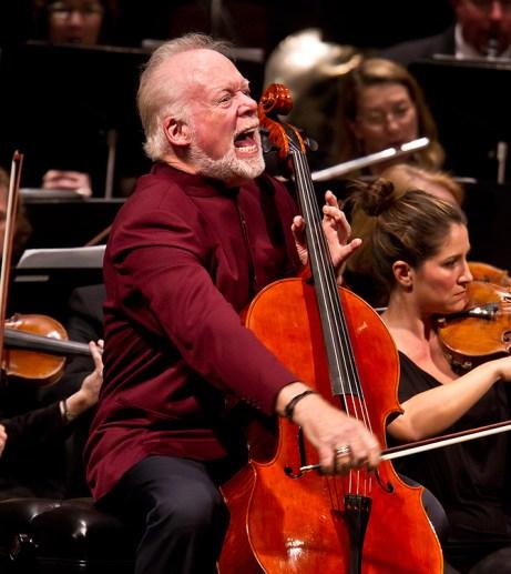 Lynn Harrell, Santa Barbara Symphony 10/22/11 Granada Theatre