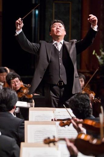 Long Yu , China Philharmonic - CAMA Santa Barbara 4/14/11 Granada Theatre