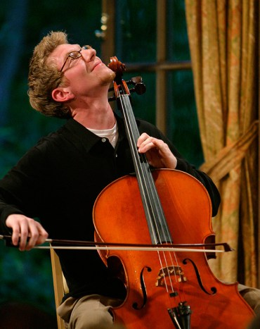 Cellist, Music Academy of the West Masterclass Sampler 7/7/03 Lehmann Hall