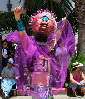 Cyclops in Santa Barbara Summer Solstice Parade 6/2001
