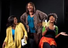 Director & Actors crack up during a publicity photo shoot - Ensemble Theatree Co. 3/13/09 NoHo Actors Studio
