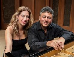 Pianists Joanne Pearce Martin and Gavin Martin
