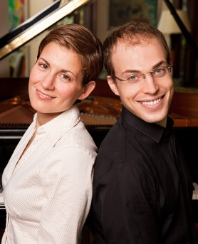 Pianists Anna Polonsky & Orion Weiss
