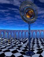 """Virtual Sculpture #2 """"Orbstand"""""""