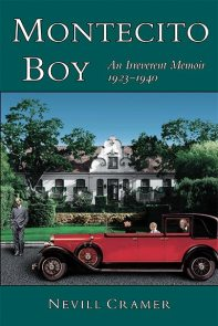 """Montecito Boy"" book cover design"
