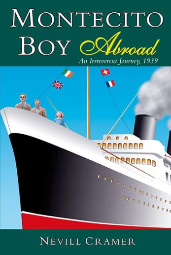 """Montecito Boy Abroad"" book cover design"