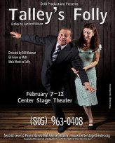 """""""Tally's Folly"""" flyer - DIJO Productions"""
