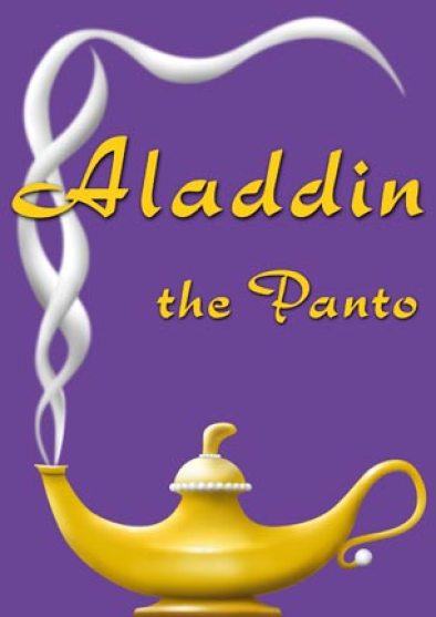 """Aladdin the Panto"" design - Santa Barbara Panto"