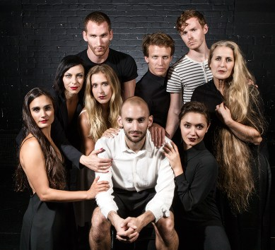 "DANCEworks 201 - Adam Barruch's ""Sweeney Todd"" publicity 2 9/11/15 Lobero Theare"