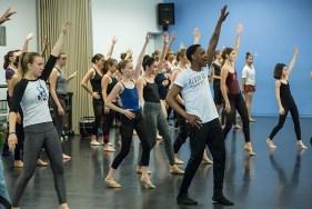 Marcus Jarrell Willis teaches master class at Santa Barbara Dance Arts Studio. Photo by David Bazemore