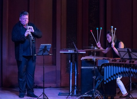 Nicholas Daniel and JiHye Jung - Camerata PAcifica 4/13/16 Hahn Hall, MAW