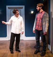 "Cory Kahane (Jonah) and, Adam Silver (Liam) - Ensemble Theatre Co. ""Bad Jews"" 4/13/16 Alhecama Theatre"
