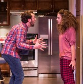 "Adam Silver (Liam) and Eden Malyn (Daphna) - Ensemble Theatre Co. ""Bad Jews"" 4/13/16 Alhecama Theatre"