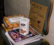 Goodies for the cast provided by Deborah Bertling