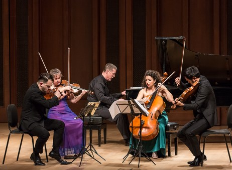 Camerata Pacifica - Edward Elgar's Quintet in A minor for Piano & Strings, Op. 84 5/13/16 Hahn Hall