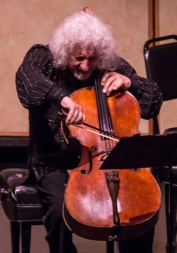 CAMA Santa Barbara - Cellist Misha Maisky 5/12/16 Lobero Theatre