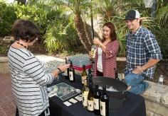 Santa Barbara Chamber Orchestra Supper Club - Refugio Ranch Vinyards 5/17/16 Lobero Theatre courtyard