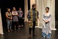 """UCSB Dept. of Theater & Dance - """"Too Much Water"""" directed by Jenny Mercein and Joyelle Ball 5/4 Performing Arts Theater"""