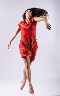 Vim Vigor Dance Company dancer Laja Field - DANCEworks Santa Barbara publicity shoot 5/6/16 Lobero Theatre
