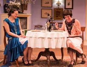 Julie Granata (Jane Banbury) & Paige Lindsey White (Julia Sterroll) - Ensemble Theatre Company 6/8/16 New Vic Theatre