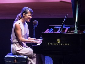 Ojai Music Festival - Leila Adu, Songs & Improvisations 6/10/16 Libbey Bowl