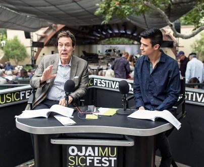 Ojai Music Festival - KUSC host Alan Chapman previews a performance 6/10/16 Libbey Bowl