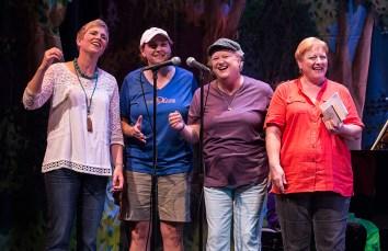 """Accentuate The Positive"" Cheers! Quartet: Barbara Gregg: Tenor, Viena Zeitler: Lead, Banks Staples Pecht: Baritone, Amanda De Lucia: Bass"