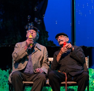 """""""Old Friends"""" with Wilson Smith & John Fink - """"Center for Successful Aging's """"Senior (musical) Moments"""" 6/3/156 Marjorie Luke Theatre"""